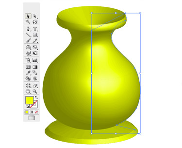 The 3D vase is ready.