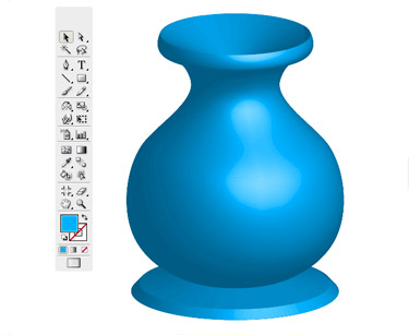 Drawing a Vase Using Illustrator CS3 has be implemented