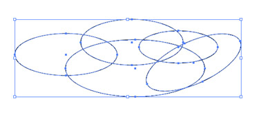 draw ellipses of various sizes.