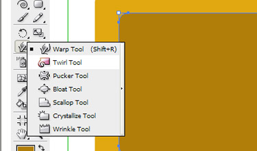 Change the intensity to 40% on Twirl tool