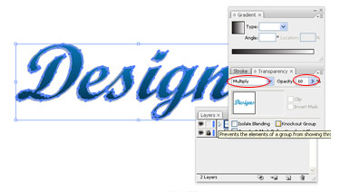 you have used a font where here is a separation between letters then you need to do as mentioned above. Select both the layer of the letter by dragging.
