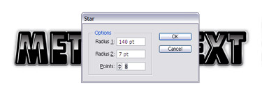 Using the Direct Selection tool extend and shorten some of the points to randomise its appearance.