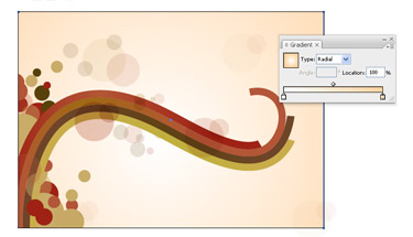 Creating an Abstract Vector Design in Illustrator Has Be Implemented.