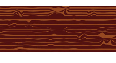 Creating a Wooden pattern in Adobe illustrator has be implemented