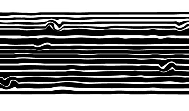 areas of the stripes to give them a twirl.