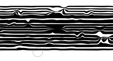 sections to bring contrast to the stripes.