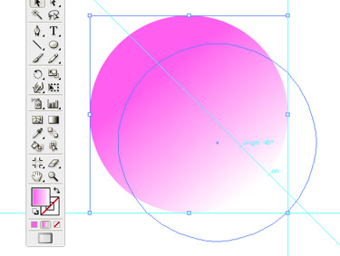 Choose a colour you like and fill the circle. I suggest you to use a dark colour. You can tone it back by adjusting the transparency.