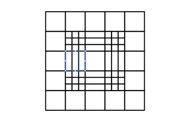 Repeat the same action for the other grid square.