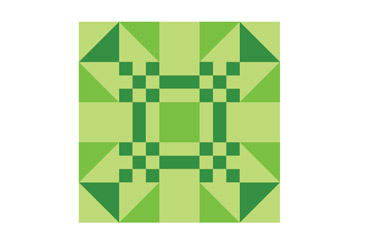 Creating a Quilt Block using Illustrator Has Be Implemented.