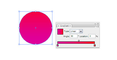 Using the Ellipse tool create a circle