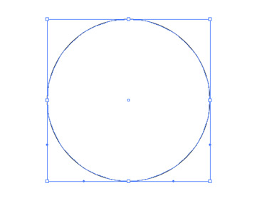 Draw an ellipse. Choose the Direct Selection tool.