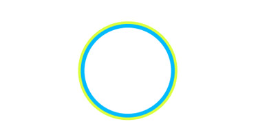 Draw a circle with no fill