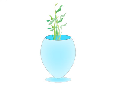 Creating a Flower Vase in Illustrator Has Be Implemented
