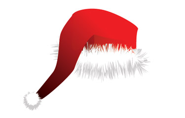 Drawing a Christmas Hat in Illustrator Has Be  Implemented