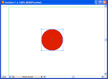 Use the Ellipse tool and draw a circle.