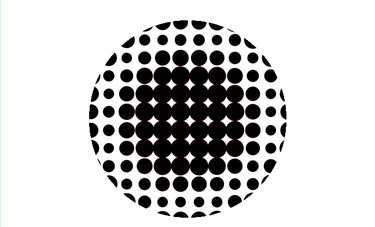 How to make Dots from a Circle Has Be Implemented