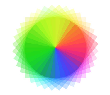 Making a Full Spectrum Spirograph in Illustrator Has Be Implemented