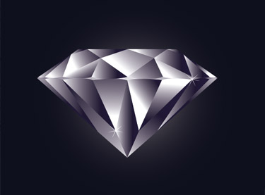 Making a Perfect Diamond in illustrator Has Be Implemented