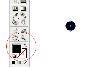To get the Ellipse tool in Illustrator, click and hold the Rectangle tool to see the other shapes