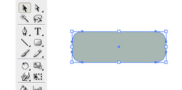 choose the Rectangle Tool and draw a small vertical rectangle shape
