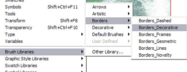Click on the brush of your choice and then click on the arrow at the top. Then select Brush Options.