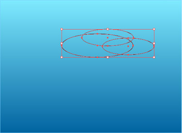 Pick the Ellipse tool and draw some flat ellipses and combine them