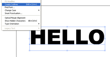 From the Layer panel drag the type layer to Create New Layer in order to duplicate the text object.