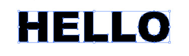 Using the Free Transform toll is a bit tricky to transform the individual letters.