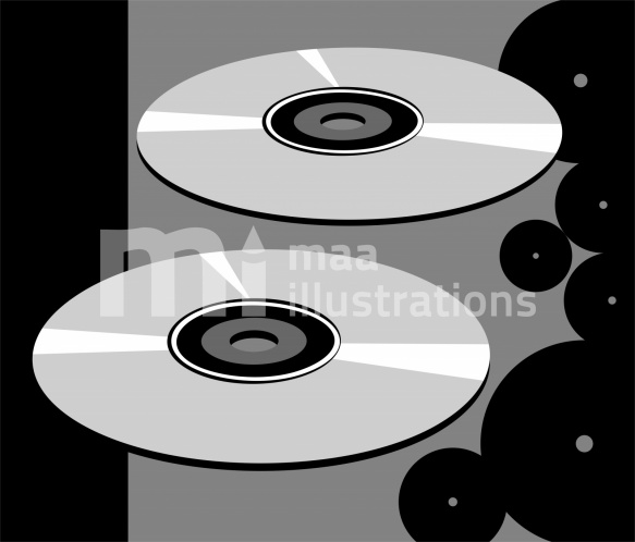 Free Compact Disc Illustration