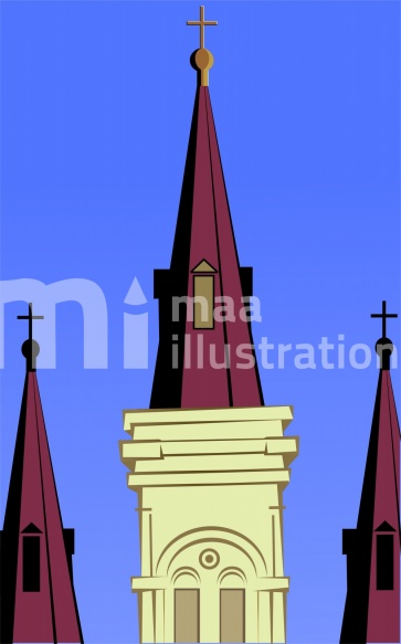 Free Church Illustration