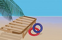Free Swimming Tube Illustration
