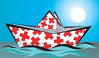 Free Medical Boat Illustration