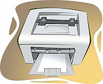 Free Printer Illustration