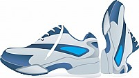 Free Sports shoes Illustration