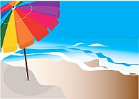 Free Sea beach Umbrella