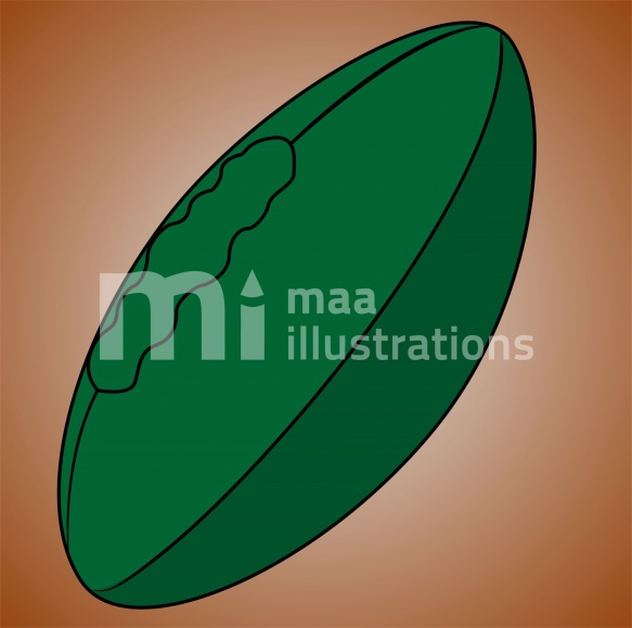 Free Rugby Ball Illustration