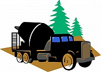 Free Cement  Mixer Lorry Illustration