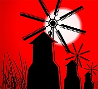 Free windmill Illustration