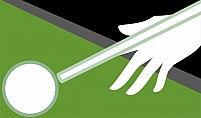 Free Snooker Stick And Ball Illustration