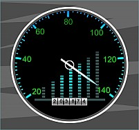 Free Tachometer Illustration