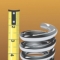 Free Tape And Springs Illustration