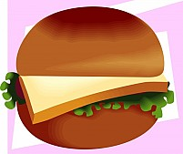 Free Hamburger Illustration