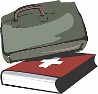 Free Bag and book Illustration