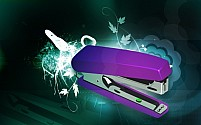 Free Stapler Illustration