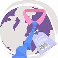 Free Globe And Price Label Illustration