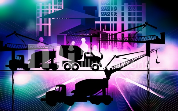 Free earth movers Illustration
