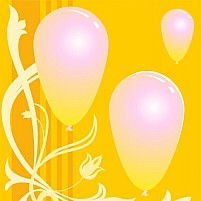 Free Balloons Illustration