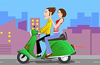 Free Scooter Illustration