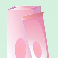Free Cosmetics Cream and Its Package Illustration