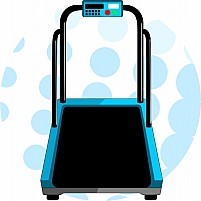 Free treadmill Illustration
